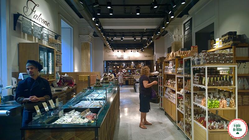 Supermercado em Milão Onde comer em Milão