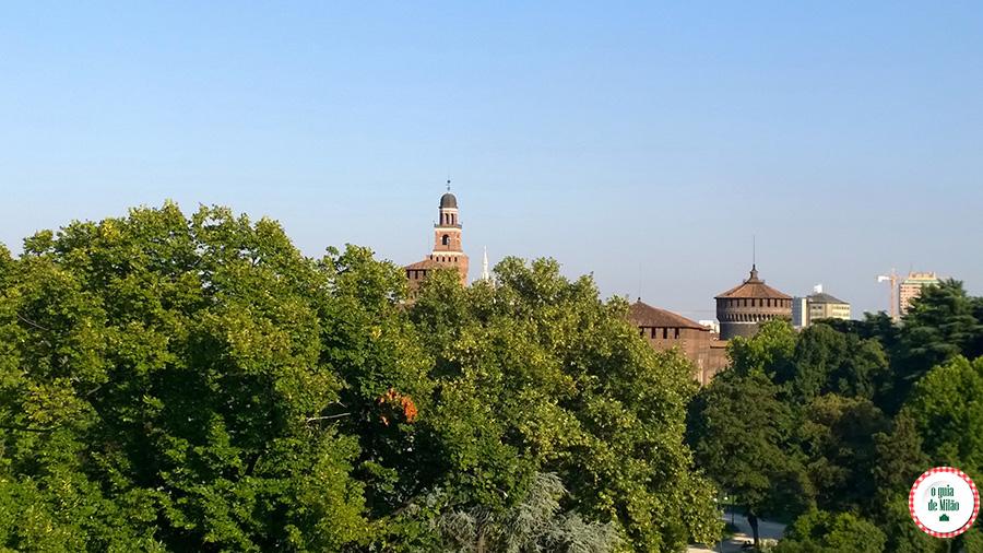 Onde comer em Milão O terraço do museu Triennale