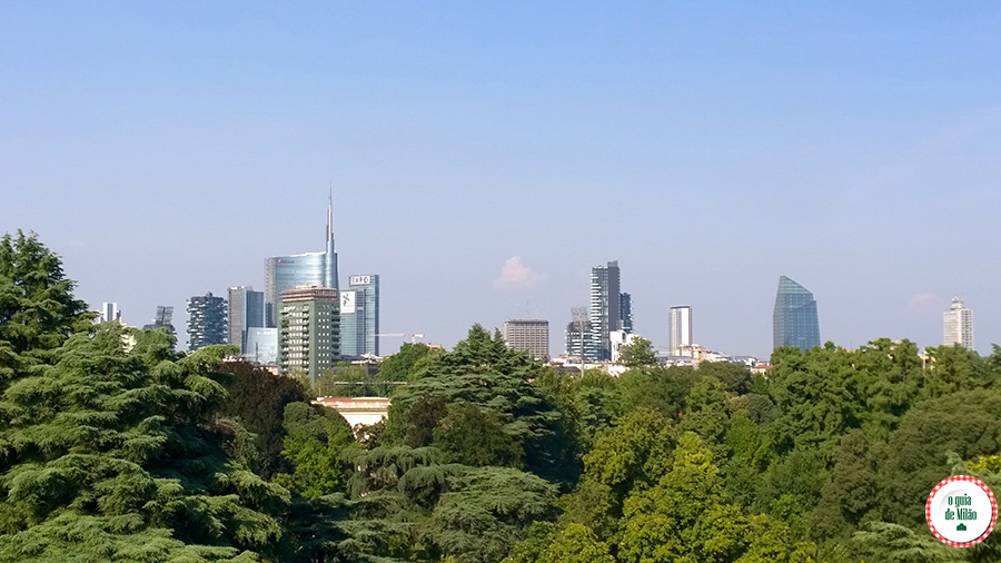 Dicas de bares e Restaurantes com vista panorâmica para a cidade em Milão