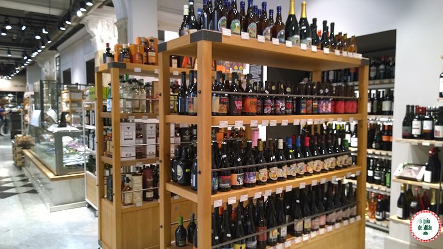 Onde comprar cervejas importadas no centro historico de Milão