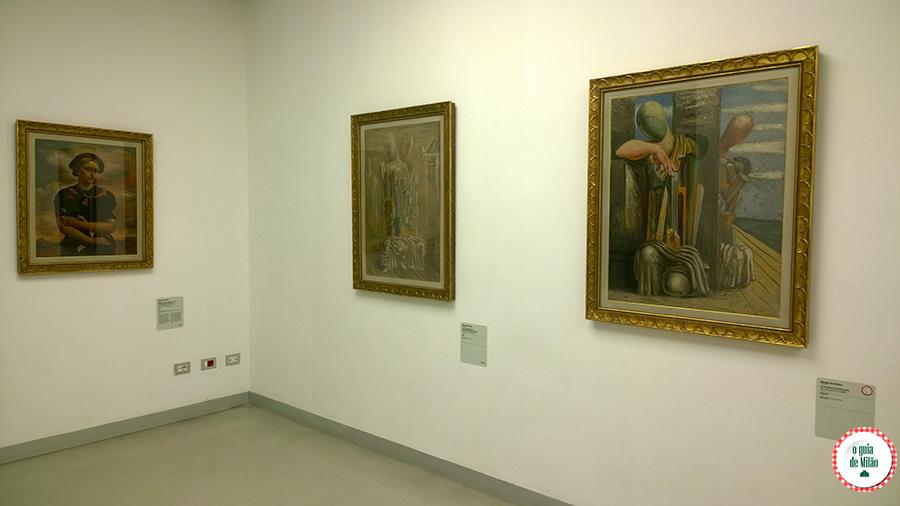 Pontos turísticos de arte no Centro de Milão Itália