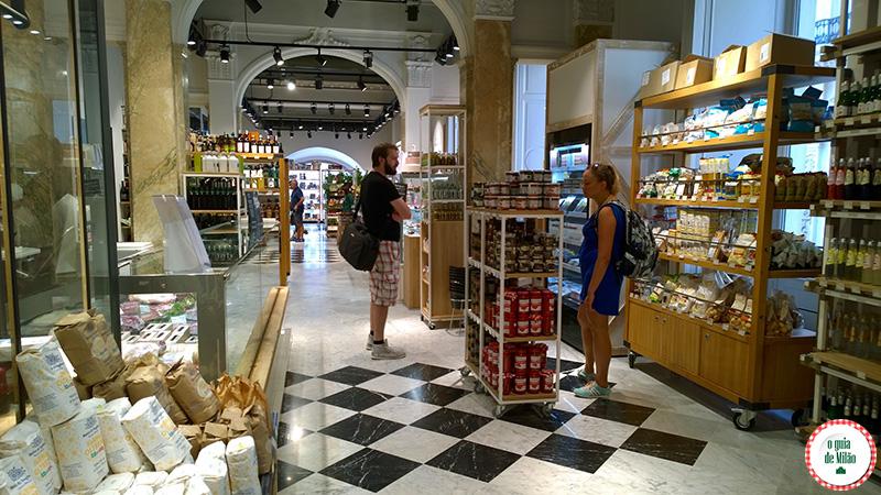 Delicatessen em Milão Loja gourmet Milão