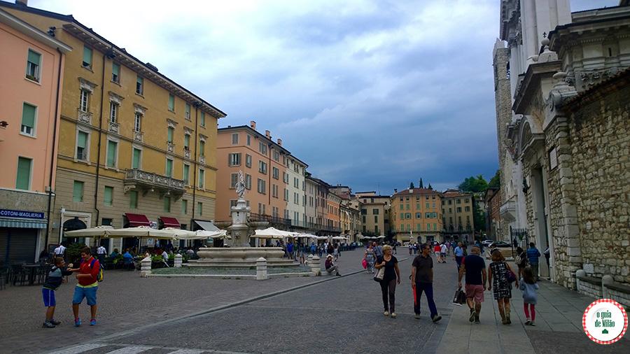 Pontos turísticos Bréscia Itália