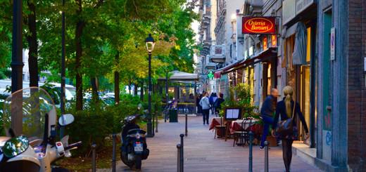 Vida noturna de Milão Bares e Restaurantes de Milão