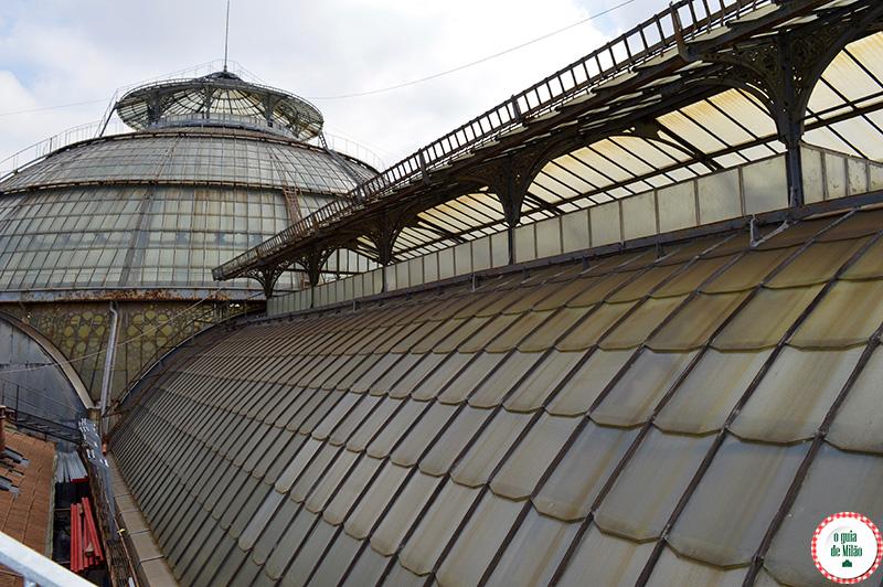 Arquitetura em Milão Galleria Vittorio Emanuele II