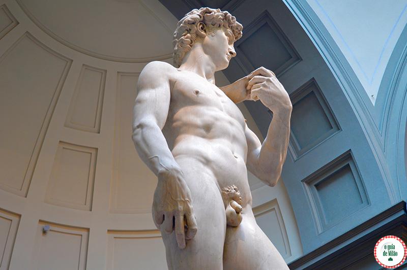 Davi de Michelangelo Florença Museu
