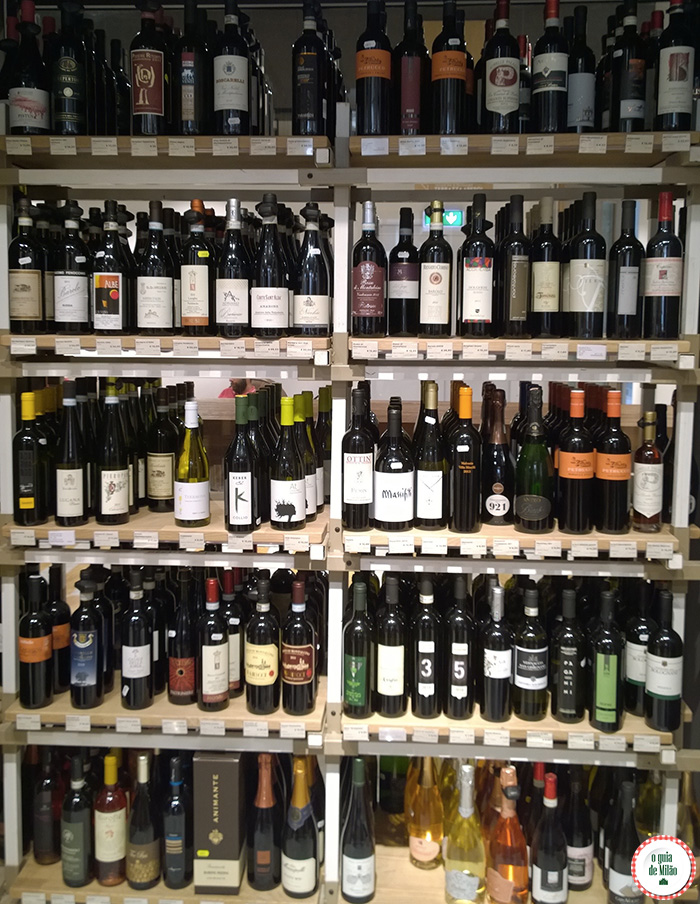 onde comprar vinho no centro histórico de Milão
