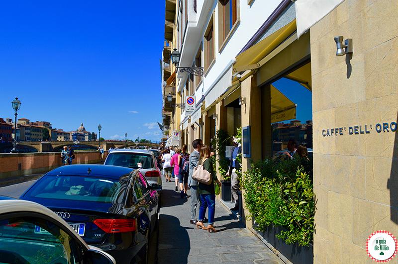 Dicas de restaurantes em Florença