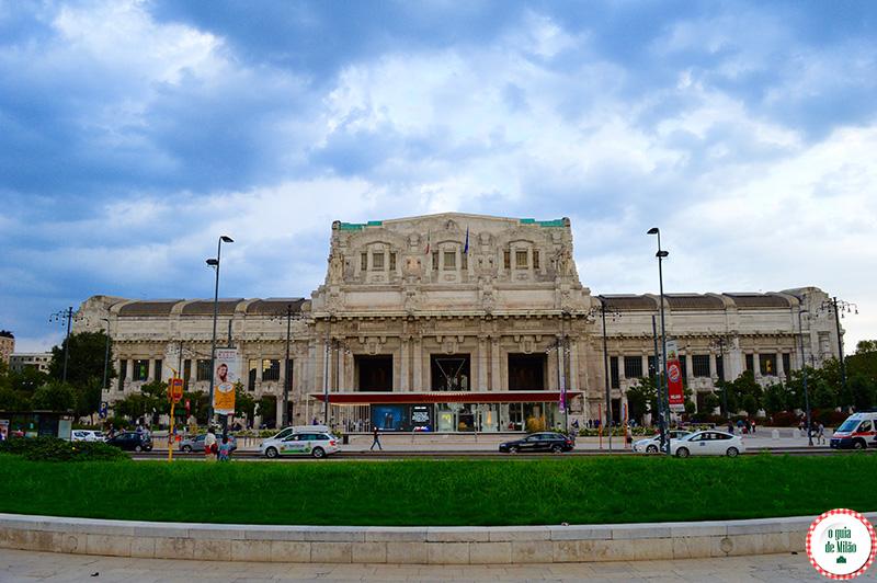 Estação de trem de Milão