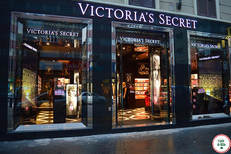 Loja Victoria Secret em Milão Itália