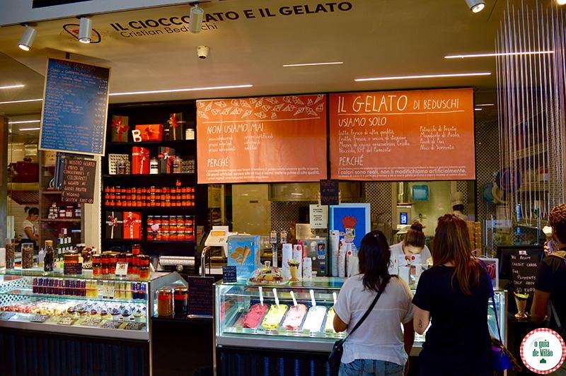 Dicas onde beber e comer barato no Mercado central de Florença
