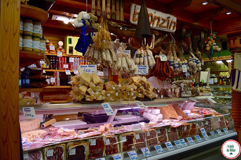 Mercado de rua em Florença Onde comer barato em Florença
