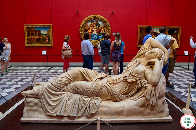 Arte e Museus em Florença Galeria degli Uffizi Florença Botticelli Renascimento
