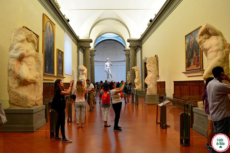 Museus em Florença Galleria Accademia