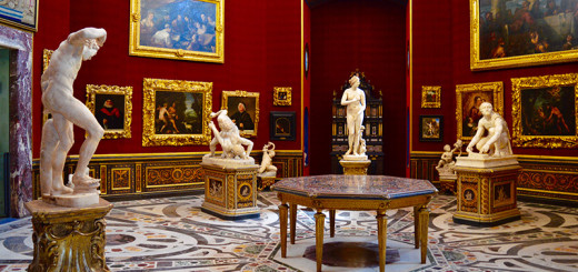 O que fazer em Florença Arte na Galeria Uffizi Leonardo da Vinci