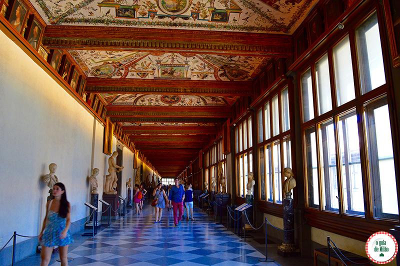 Museus e dicas de Arte de Florença como reservar entrada na Galeria Uffizi