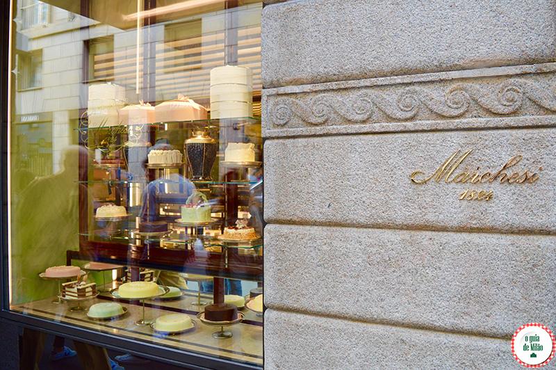 Confeitaria em Milão