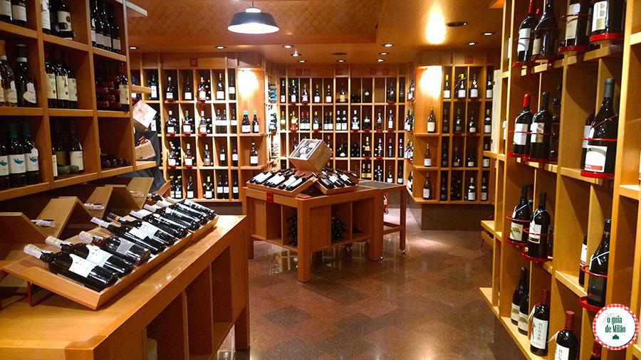 Dicas de compras de vinho em Milão