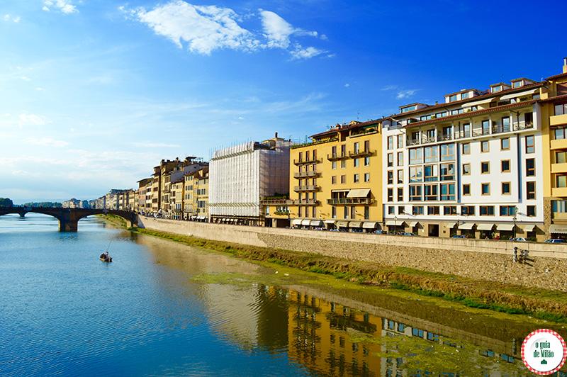 Os melhores restaurantes no centro hisatórico de Florenç
