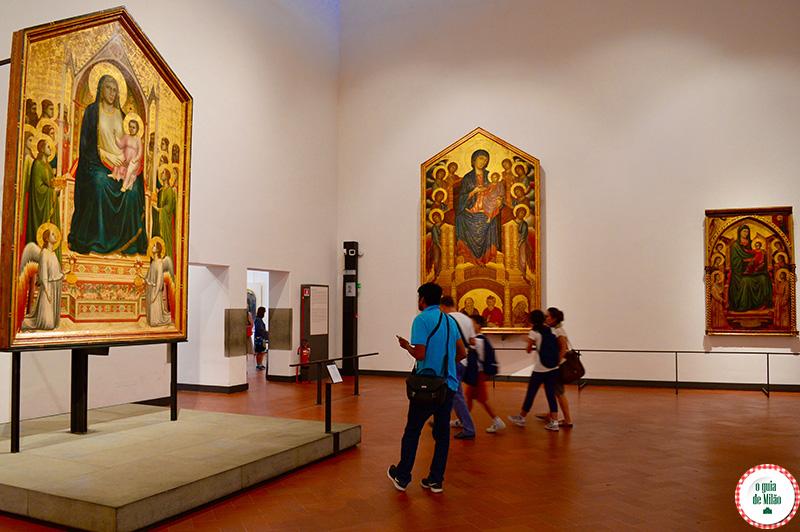 Pontos turísticos Florença Dicas Arte e Museus