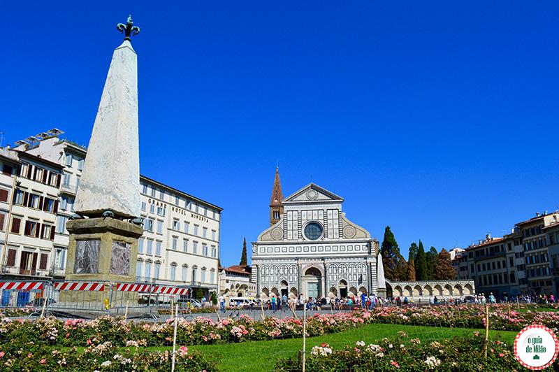 Turismo em Florença As principais igrejas de Florença