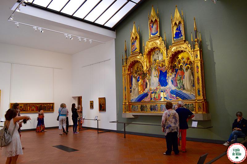 Turismo no Museus de Florença Galeria Uffizi de Florença