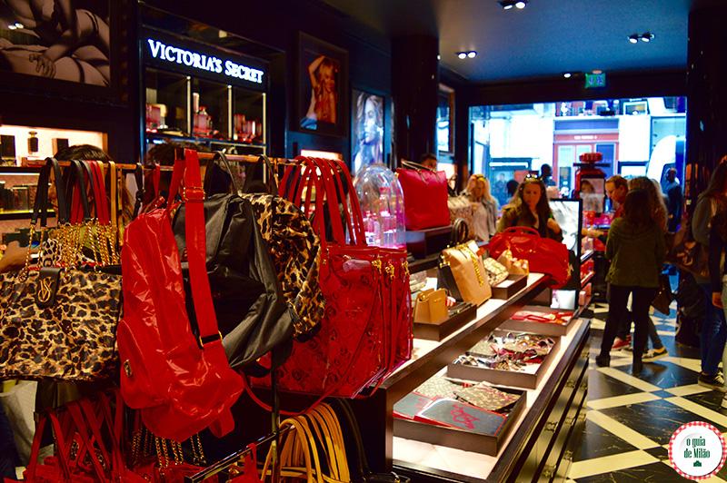 Victoria's Secret na Itália as lojas de Victoria's Secret em Milão