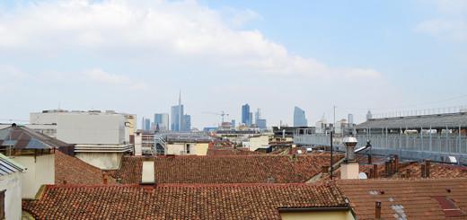Vista panorámica de Milão