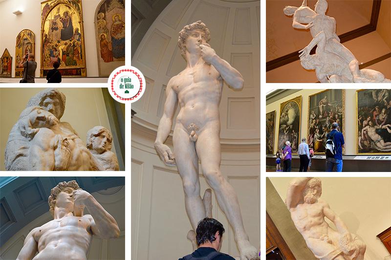 Principais pontos turísticos de Florença David Michelangelo