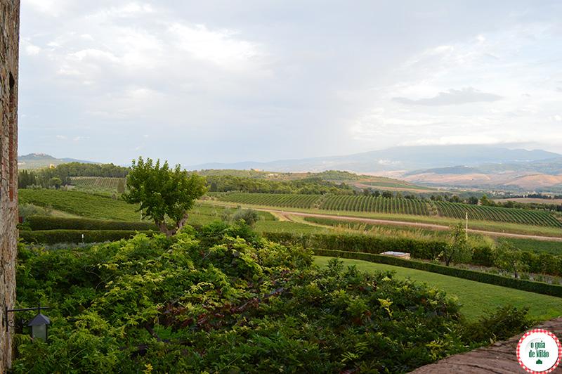 As melhores vinicola da Toscana Itália