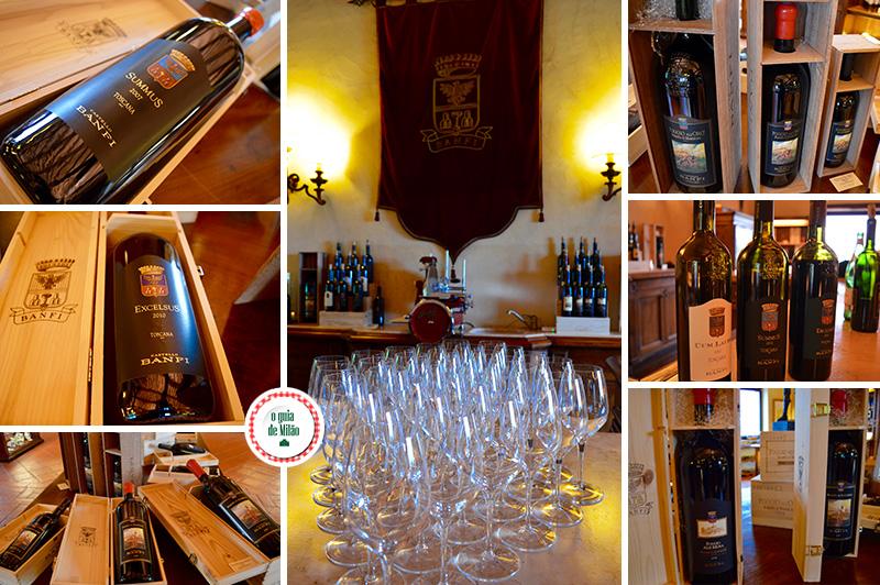 Rota dos Vinhos na Toscana Itália