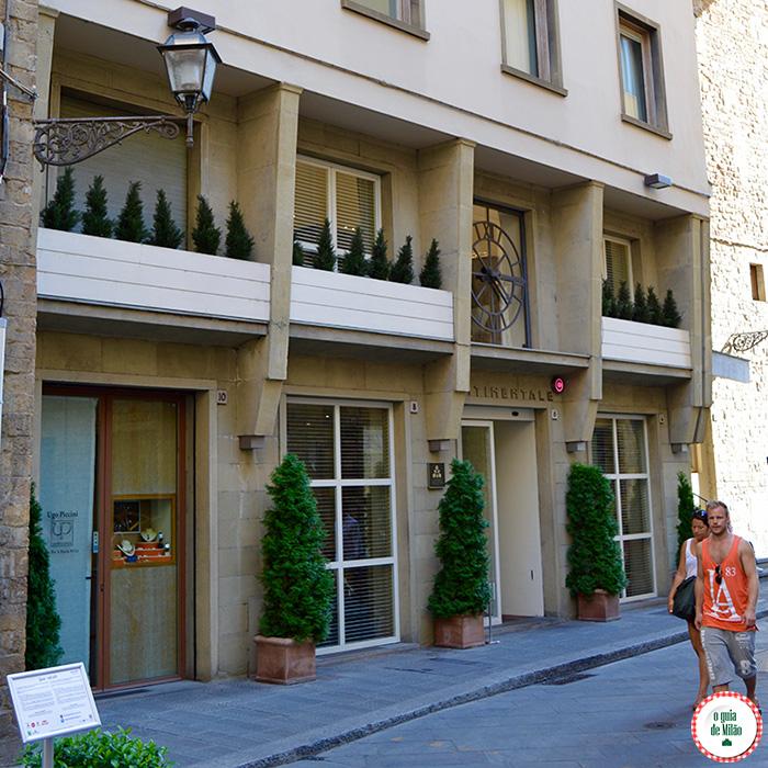 Bar romantico com Vista panorâmica de Florença