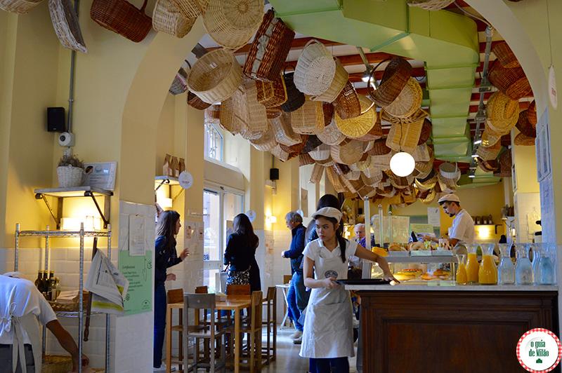 Café da manhã em Milão