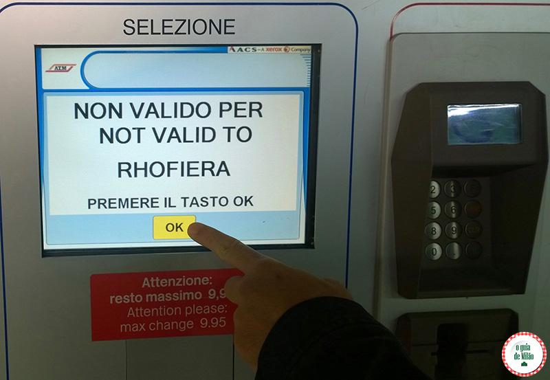 Como comprar bilhete para ônibus bonde e metrô em Milão