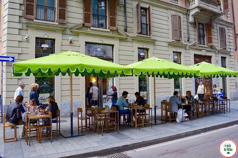 Confeitarias em Milão Onde comer em Milão