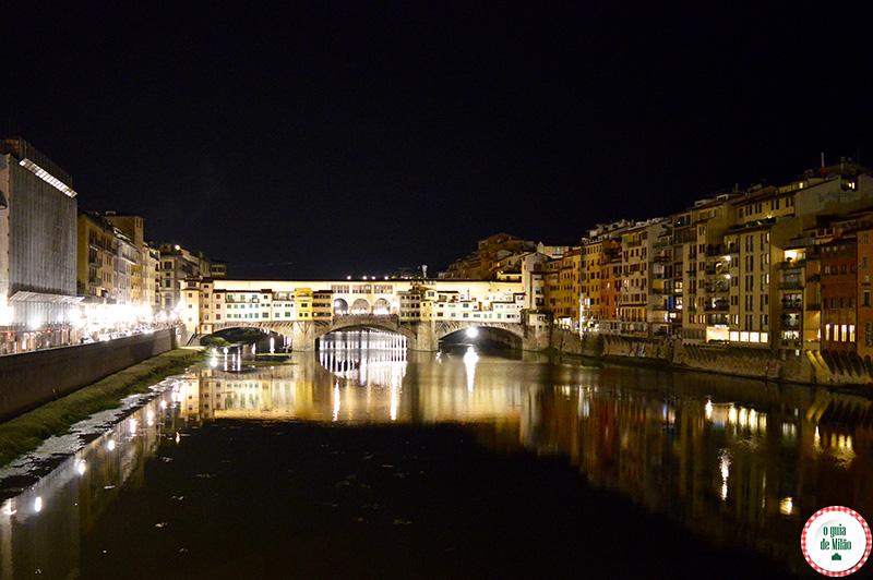 Florença à noite Bares em Florença