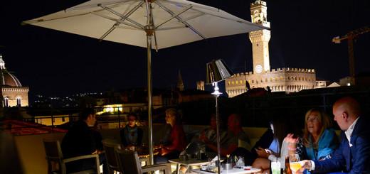 O que fazer em Florença à noite Bares Vista panorâmica de Florença