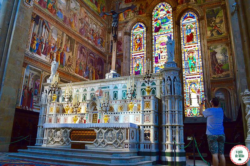 Pontos turísticos de Florença Igreja de Santa Maria Novella
