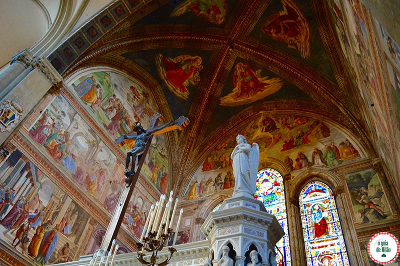 Principais igrejas de Florença