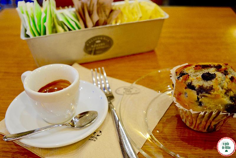 California Bakery Milão Muffins em Milão