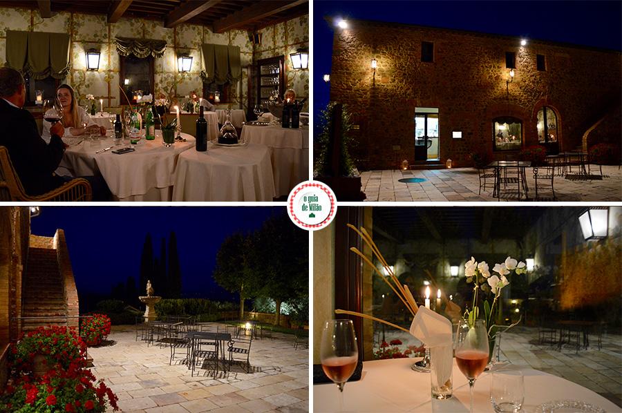 Restaurantes na Toscana Itália Degustação de vinhos na Toscana Itália