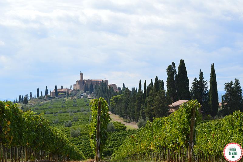 Turismo rural na Itália Onde se hospedar na Toscana