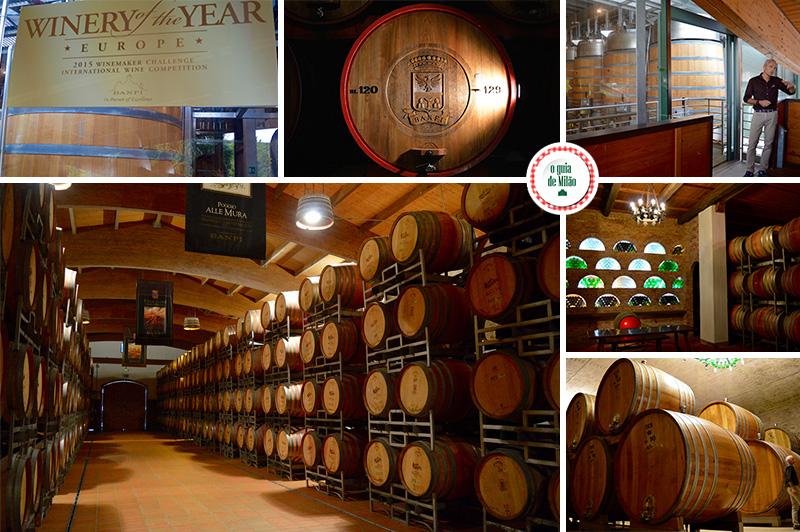 Vinhos italianos da Toscana Os melhores vinhos italianos Brunello di Montalcino