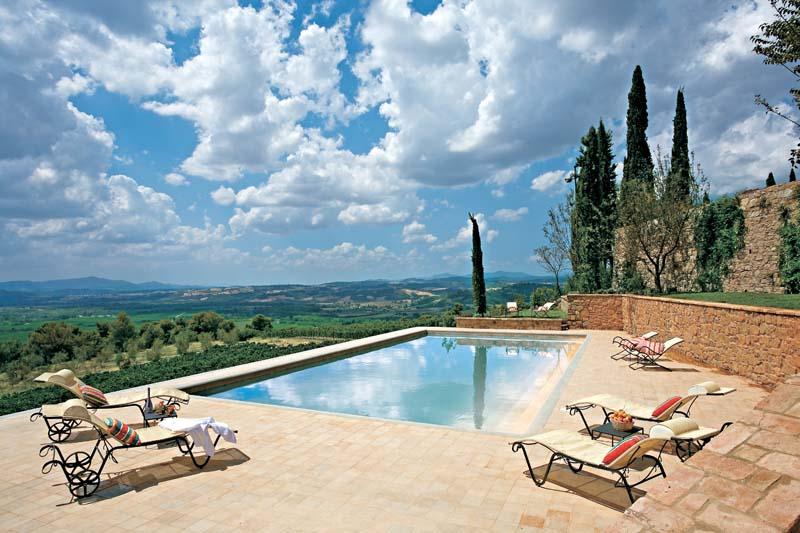 Vinicola na Toscana Itália degustação vinhos italianos