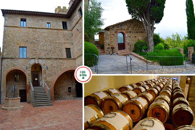 roteiro de vinhos na Toscana Itália