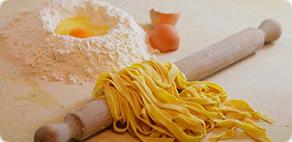 Aula de culinária massas artesanais e sobremesa típica Italiana Florença