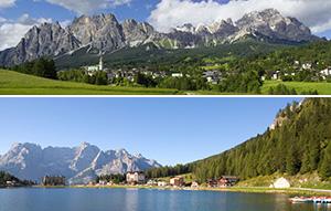Bate volta Veneza Dolomiti passeio pelos magníficos picos exuberantes vales e famosos lagos do norte da Itália