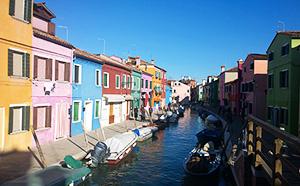 Excursão em barco para os vidros de Murano, a colorida ilha de Burano e Torcello