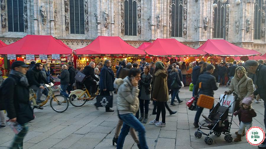 Feirinha Gastronômica em Milão