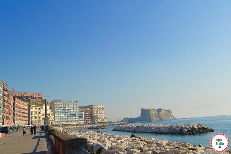 Clima e temperaturas em Nápoles Itália